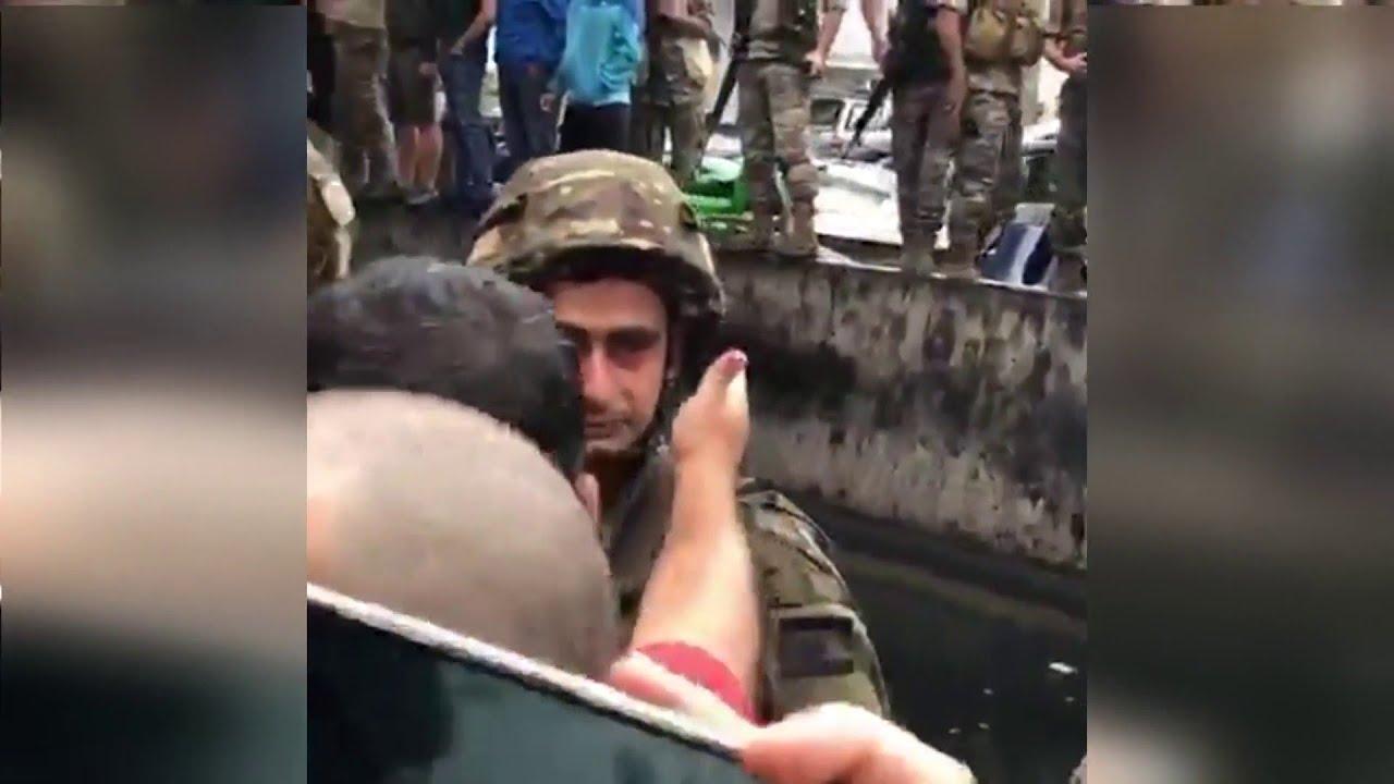 نتيجة بحث الصور عن جندي لبناني يبكي