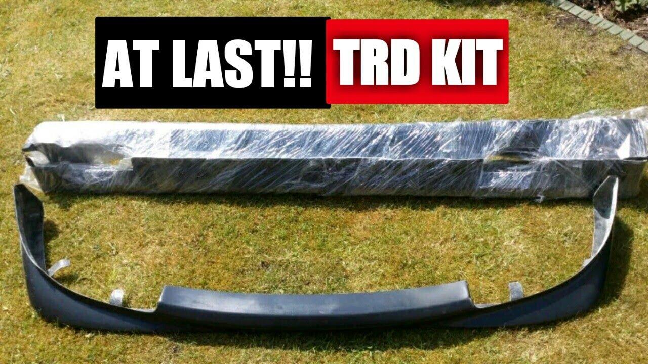 Toyota Mr2 Trd Stage 1 Body Kit