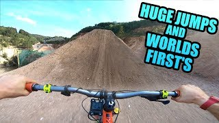 HUGE MTB JUMPS AND 2 WORLDS FIRSTS *STOKED*