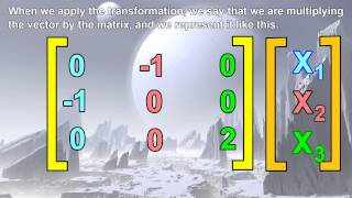 Linear Algebra - Matrix Transformations