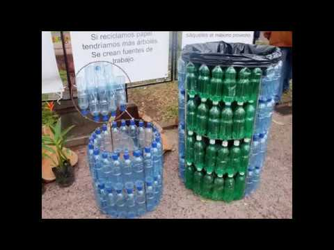 Creative ideas for reuse the used plastic bottles youtube for Creative ideas using plastic bottles