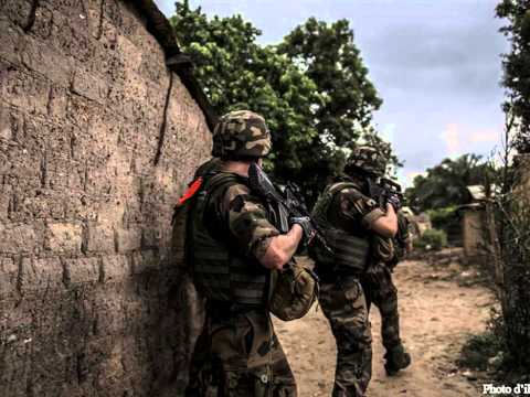 Tribute to French Army in Central African Republic