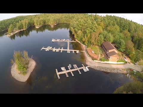 Drone Video Land O' Lakes Lodge
