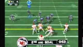 NFL Blitz 2003 - Cowboys vs Chiefs (1st Half)