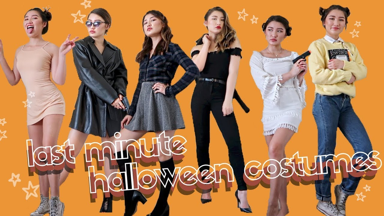 e4020774a LAST MINUTE *not lame* HALLOWEEN COSTUMES - YouTube