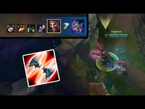 Blind Draven E Baron Steal - League of Legends Funny Stream Moments #280