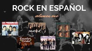Rock en español mix (volumen 1) mana, prisioneros, hombres g , enanitos verdes,Vilma Palma y más