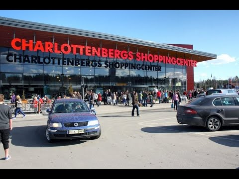 Charlottenbergs Shoppingcenter Hypermat border shop sweden