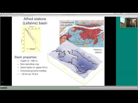 ICLR Friday Forum: Earthquake Risk in Ottawa and Gatineau (Feb. 21, 2014)