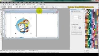 Cara Membuat dan Mengukur Cover Untuk CD/DVD dengan CorelDRAW | Belajar CorelDRAW
