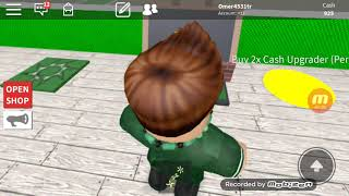 The name of the game is roblox the name of the game I play is super hero tycoon