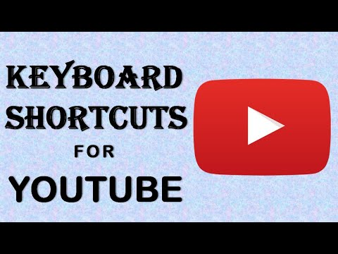 Unknown YouTube Keyboard Shortcuts