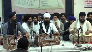 Bhai Anantvir Singh Manchester Smagam 2014 Friday Evening