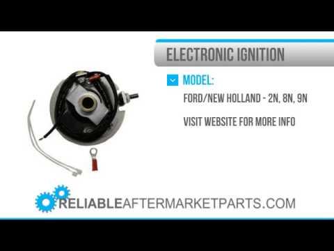 EF4FMP6 New Ford Electronic Ignition Kit 2N 8N 9N 6 Volt