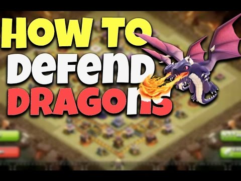 Clash Of Clans - How To Defend Against Dragon Attack