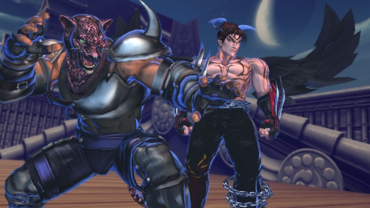 Street Fighter X Tekken - Devil Jin X Armor King Vs Bikini -8175