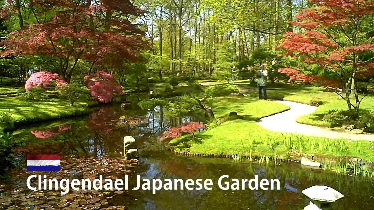 Japanese Garden holland: japanese garden clingendael - the hague [hd] - youtube