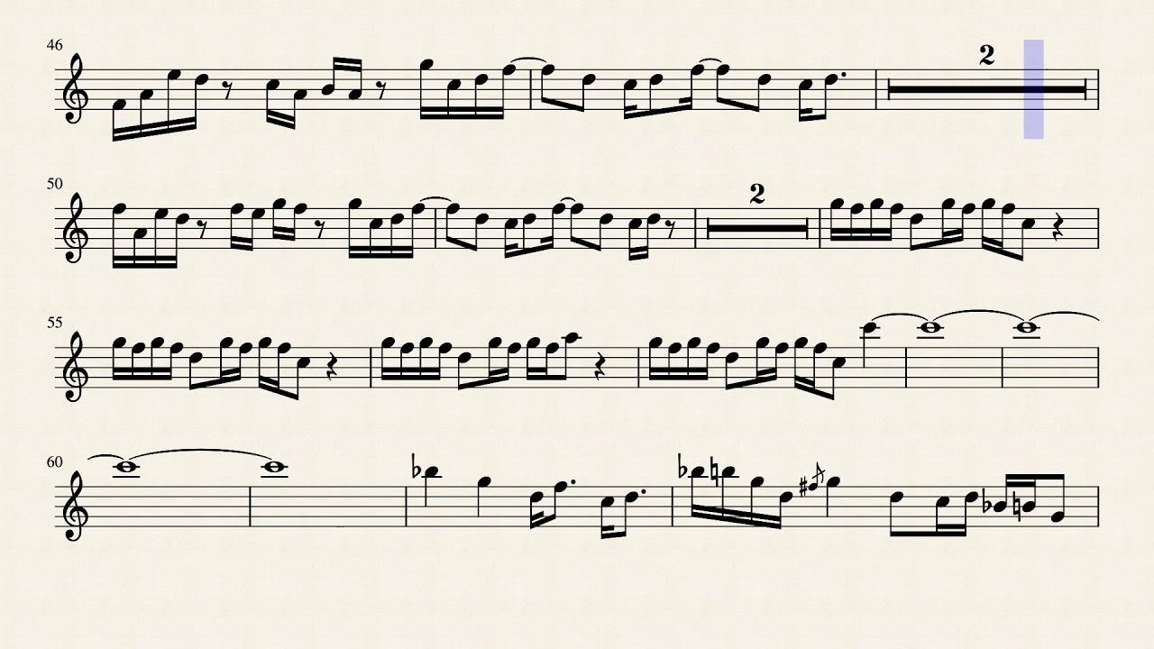 Pick Up The Pieces, Average White Band, Alto Sax