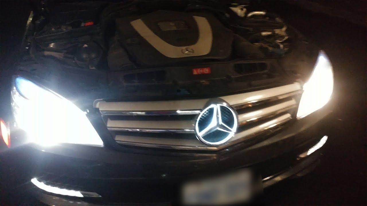 Install Mercedes Benz Star Light Mod Youtube