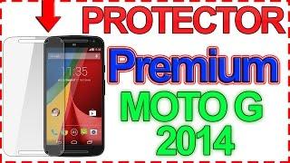 Motorola Moto G 2014: El mejor protector de pantalla PREMIUM - Cristal templado Orzly. Review [HD]