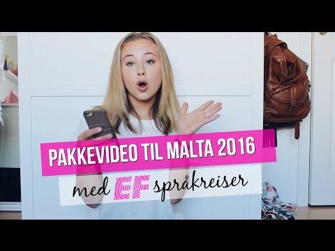 PAKKEVIDEO TIL MALTA MED EF 2016