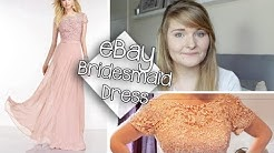 EBAY BRIDESMAID DRESSES | CHINA | UNBOXING & REVIEW