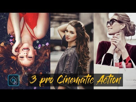 Cinematic Color Grading Effect In Photoshop (Free 3 Pro Cinematic Action)