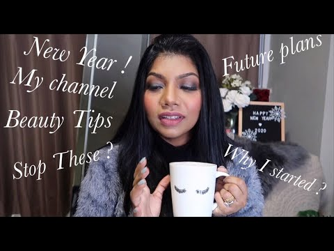 #NewYear | #BeautyTips | My channel and goals | Coffee & Chitchat