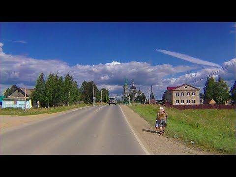Поездка через Невьянск в село Быньги