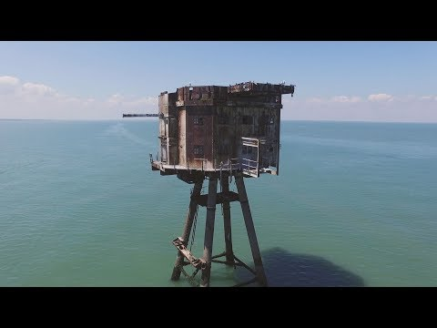 Drone: The Abandoned Maunsell Sea Forts