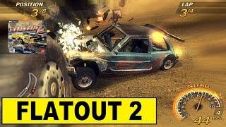 Flatout 2 PC Gameplay Timberland Fun Race