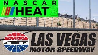 Nascar Heat 2 Gameplay - Career Mode at Las Vegas