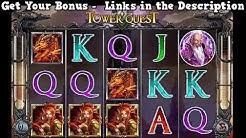 Tower Quest Slot Game - BIG WIN!!! - Best USA Slots Casinos + 250% Slots Bonus