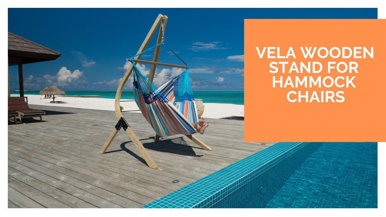 LA SIESTA VELA - Wooden Stand for Hammock Chairs