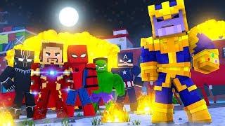 Minecraft Phim Chiến Tranh Siêu Anh Hùng Cực Gắt - Nhạc Minecraft - minecraft war infinity music