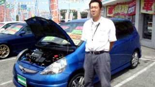 【売約済】ホンダGD3フィット1.5W5速MT車千葉県カーショップライズ成田店