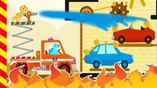 Пожарные машинки. Мультики про пожарных. Пожарная машина для детей. Пожарные машины мультфильм.