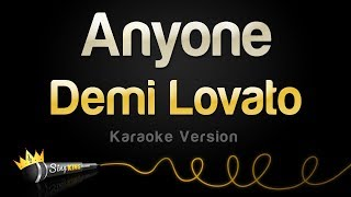 Demi Lovato - Anyone (Karaoke Version)