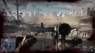 BATTLEFIELD 4 SNIPER MULTIPLAYER GAMEPLAY / MONTAGE (Beta Alpha Tera...April fools BF3)