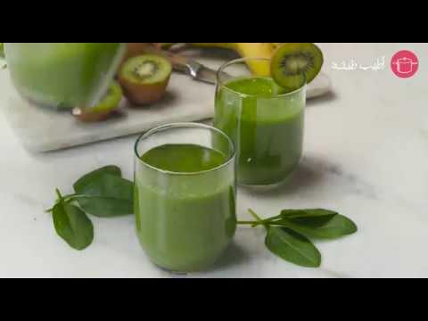 مشروب الديتوكس الأخضر مثالي وفعال للرجيم