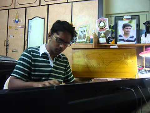 Chilipiga,Orange Piano Cover by Rahul Raghavendra (MRR)