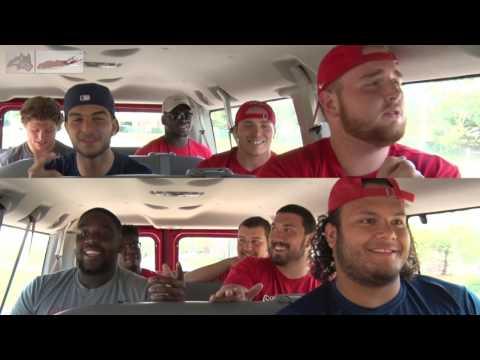 Stony Brook Football - Carpool Karaoke Episode 3