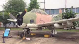 North American T 28D Trojan Military Trainer Aircraft
