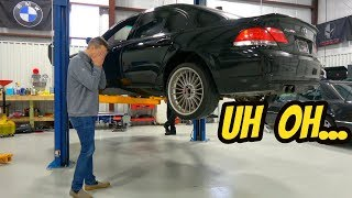 Here's Everything That's Broken On My Cheap BMW Alpina B7