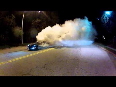 Corvette C5 ZO6 Burnout