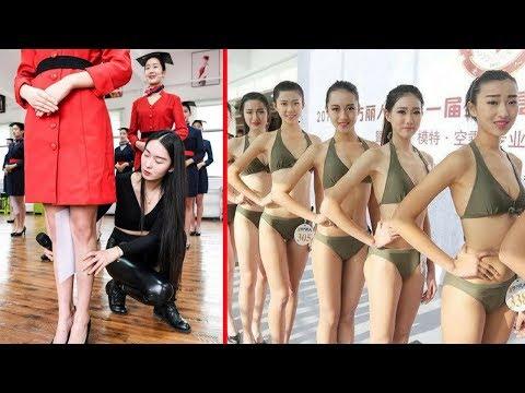 Hostes Adaylarına Çin İşkencesi - Çin'de Hostes Olmak