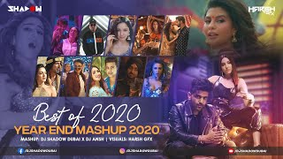 Best of 2020 Mashup | DJ Shadow Dubai x DJ Ansh | Biggest Party Hits | Year End Mashup