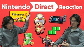 Nintendo Direct February 2019 Reaction!