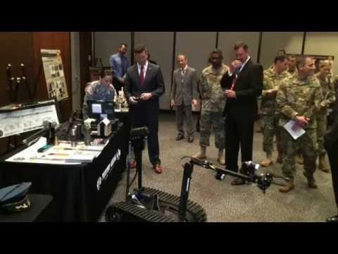 Acting Army Secretary visits Picatinny