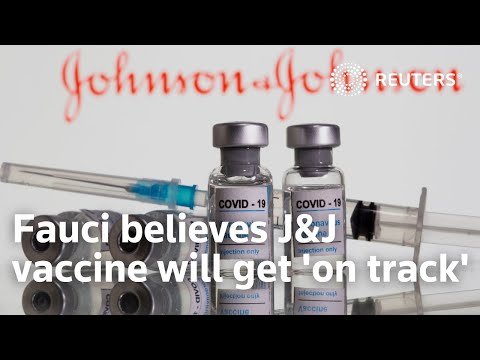 Dr. Anthony Fauci believes Johnson & Johnson vaccine will 'get back on track'